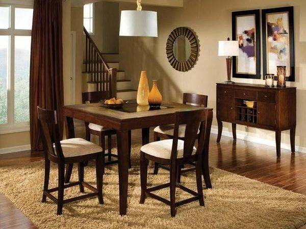 Wooden Dining Room Table Simple Decoration Stroovi