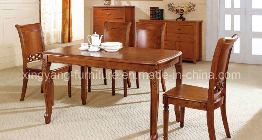 Wooden Dining Table Chairs Marceladick