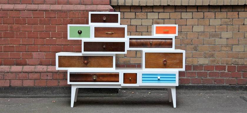 Wooden Furniture Inspired Patchwork