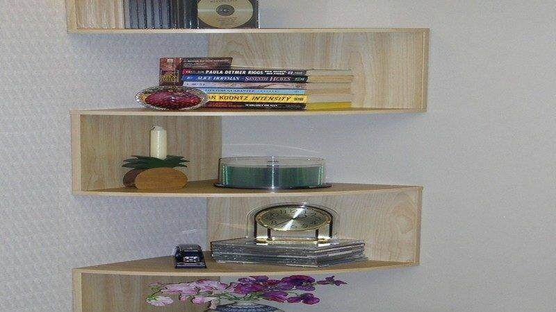 Wooden Glass Corner Rack Furnitureteams