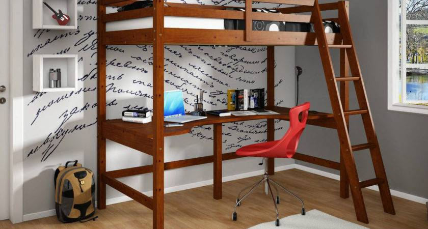 Wooden Iron Material Bunk Bed Desk Silo