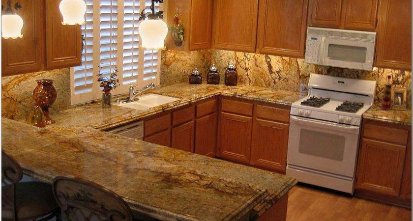 Wooden Kitchen Countertop Finishes Beige Fabric Windows