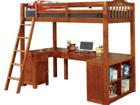 Wooden Loft Beds Desk Home Design Ideas