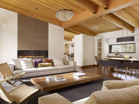 Wooden Walls Ceiling Design Solid Wood Furniture