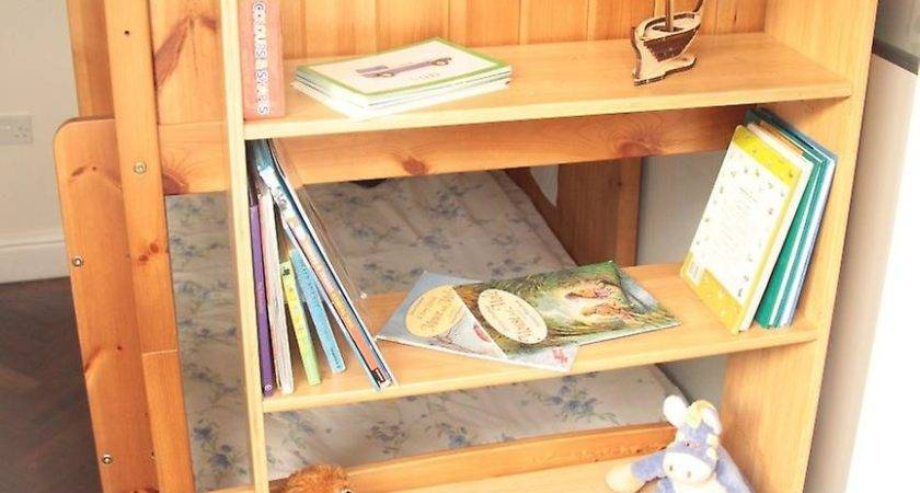 Woodquail Bamboo Bunk Bed Clip Shelf Tiers Kids