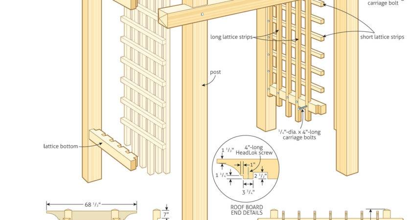 Woodwork Build Pergola Woodworking Plans Pdf