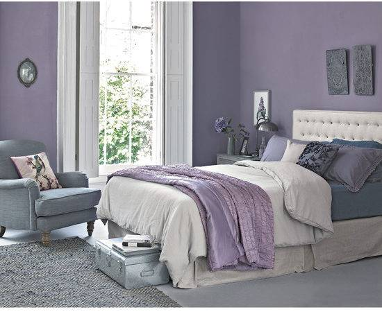 Work Lilac Grey Colour Scheme Into Your