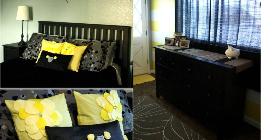 Wow Red Black Yellow Bedroom Decor Remodel