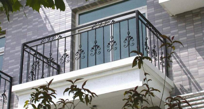 Wrought Iron Balcony Railing Designs Ornamental Elegant