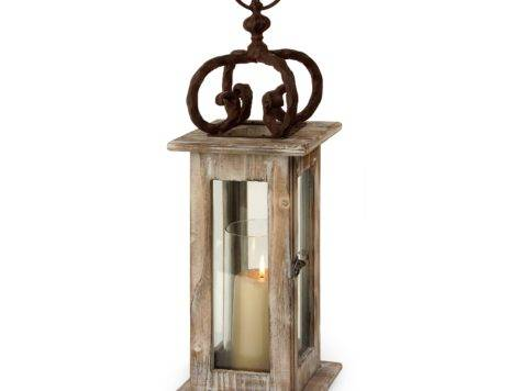 Wrought Iron Candle Lantern Holders Candles