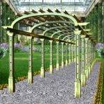 Wrought Iron Concept Products Pergolas