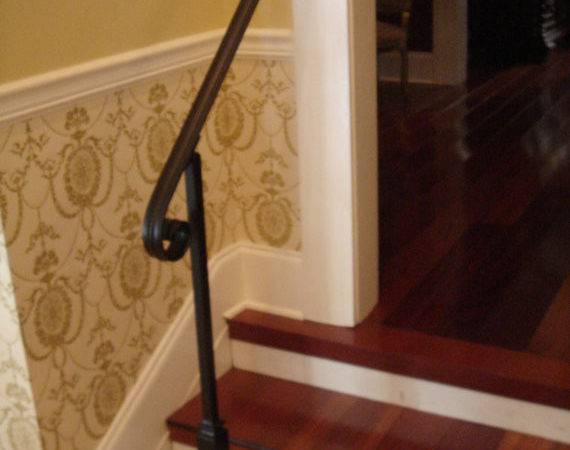 Wrought Iron Handrail Stair Step Railing