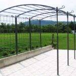 Wrought Iron Pergola Exciting Wonderful