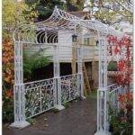 Wrought Iron Pergola Home Decor