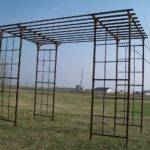 Wrought Iron Pergola Mission Arbor Gazebo