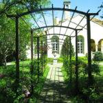 Wrought Iron Pergola Patio Traditional None