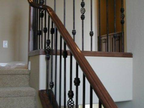 Wrought Iron Stair Railing Idea John Robinson House