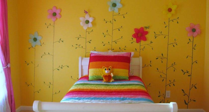Yellow Bedroom Ideas Girls Pink