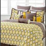 Yellow Black Bedding Gray