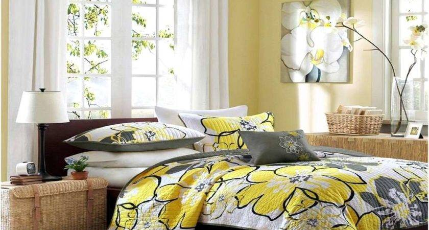 Yellow Black Bedding Sets Home Design Remodeling Ideas