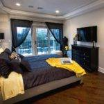 Yellow Black Bedroom Decor