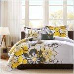 Yellow Black Grey Bedding Sets Uncategorized