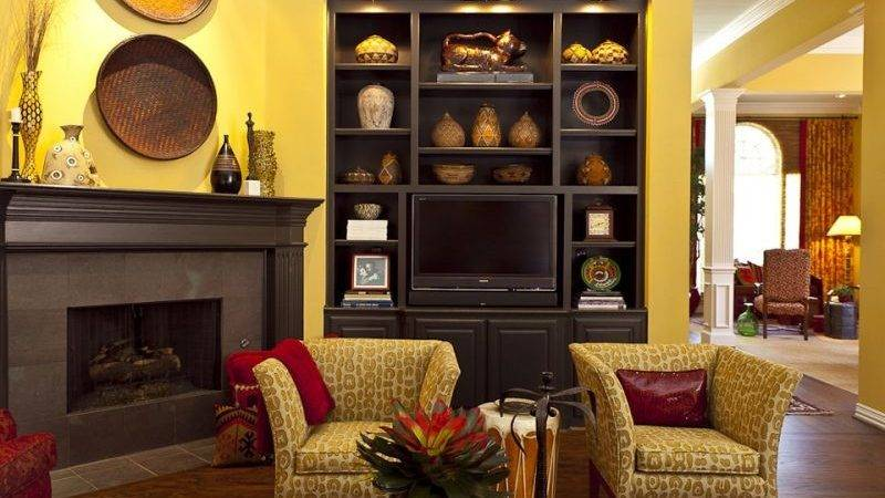 Yellow Brown Living Room Ideas Speedchicblog