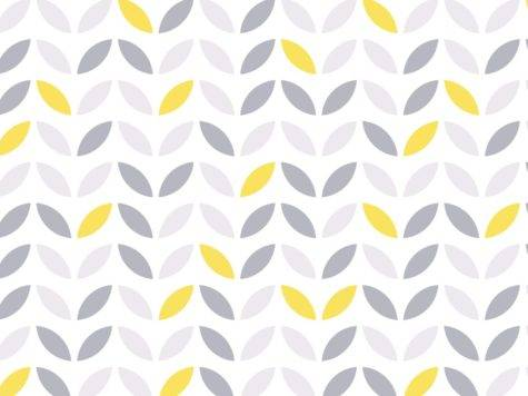Yellow Gray Pattern