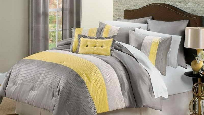Yellow Grey Bedroom Fresh Bedrooms Decor Ideas