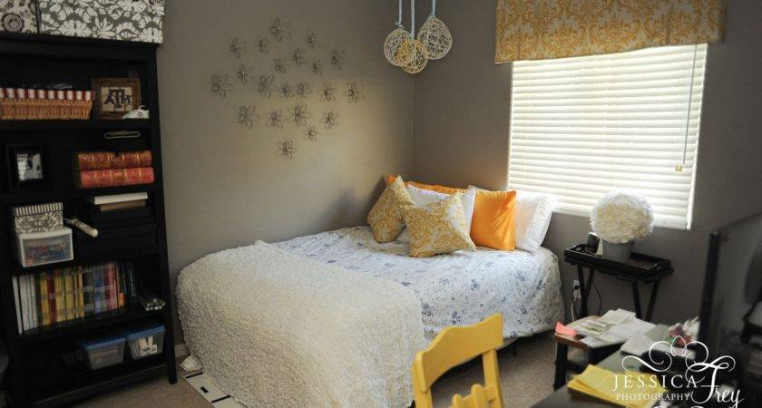 Yellow Grey Bedroom Ideas