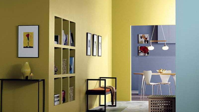 Yellow Home Interior Colors Decorating Ideas