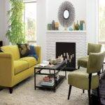 Yellow Living Room Decorations Pale
