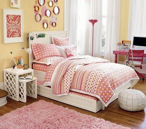 Yellow Pink Room Ideas Light Makes
