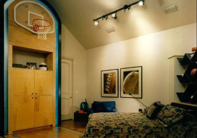 Young Boys Sports Bedroom Themes Room Design Inspirations