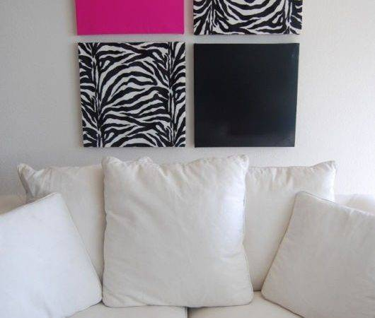 Zebra Print Wall Decor Modern Homes