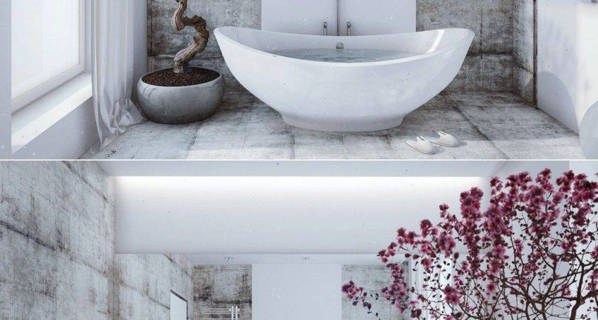 Zen Bathroom Design Interior Ideas