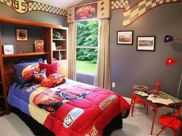 Zoom Style Car Themed Bedroom Your Boys